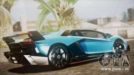 Lamborghini Veneno LP700-4 AVSM pour GTA San Andreas laissé vue