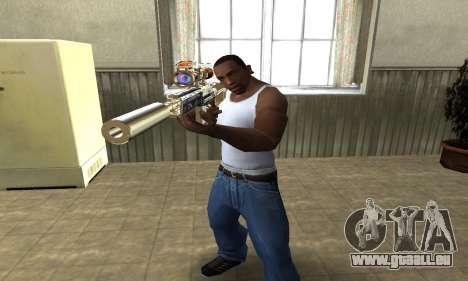 Sniper Fish Power pour GTA San Andreas deuxième écran