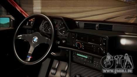 BMW E24 Shakugan No Shana Itasha pour GTA San Andreas vue de droite