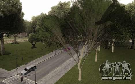Une copie de l'original arbres pour GTA San Andreas deuxième écran