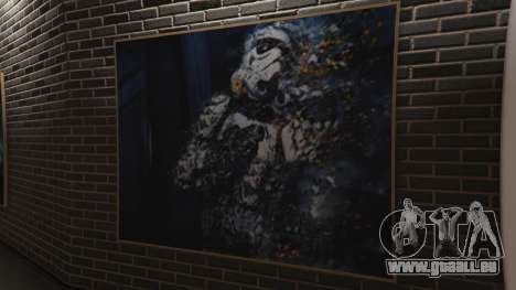 GTA 5 Star Wars Posters for Franklins House 0.5 cinquième capture d'écran