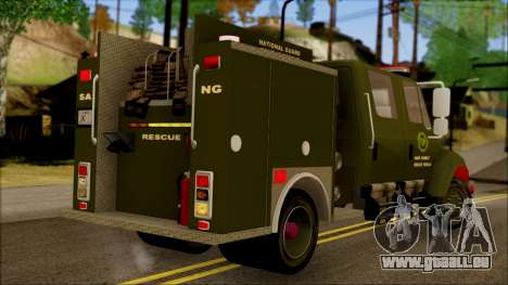 SANG Combat Rescue International pour GTA San Andreas laissé vue