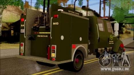 SANG Combat Rescue International für GTA San Andreas linke Ansicht