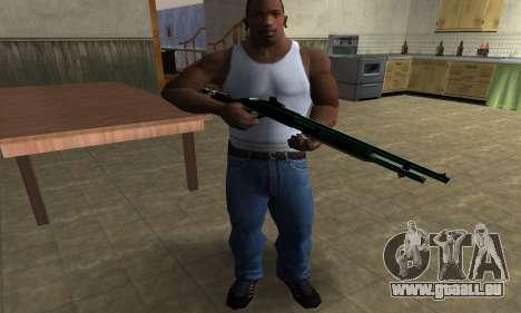 Green Guy Shotgun pour GTA San Andreas troisième écran