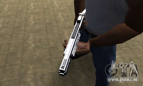 Black Shotgun für GTA San Andreas zweiten Screenshot