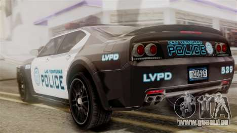 Hunter Citizen from Burnout Paradise Police LV für GTA San Andreas linke Ansicht