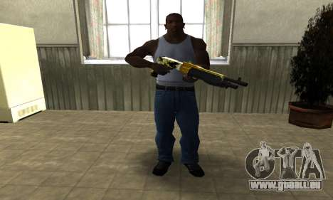 Wonder Combat Shotgun für GTA San Andreas dritten Screenshot