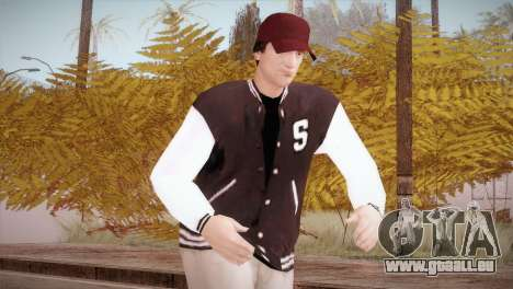 Jimmy Silverman pour GTA San Andreas