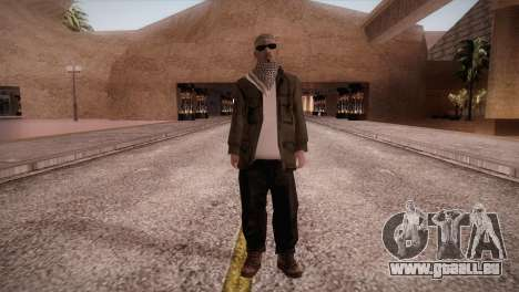 Terroristes pour GTA San Andreas deuxième écran
