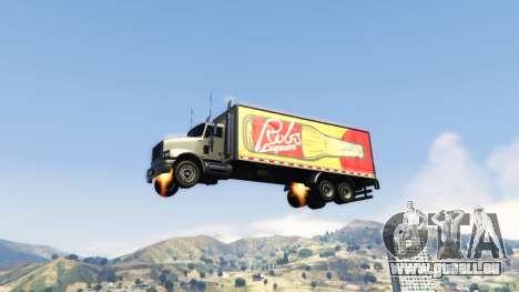GTA 5 Vehicles Jetpack v1.2.2 troisième capture d'écran