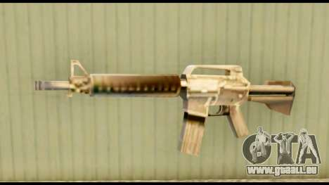 M4 Fixed pour GTA San Andreas