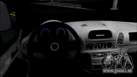 Opel Vivaro Policija pour GTA San Andreas sur la vue arrière gauche