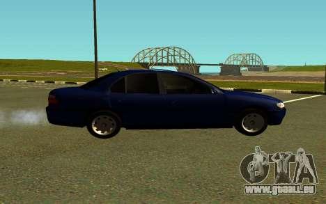 Opel Omega B pour GTA San Andreas laissé vue