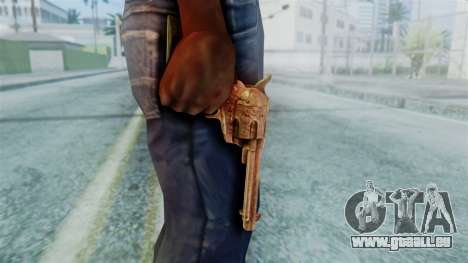 Red Dead Redemption Revolver Diego Nueva für GTA San Andreas dritten Screenshot