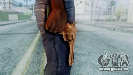 Red Dead Redemption Revolver Diego Nueva pour GTA San Andreas troisième écran