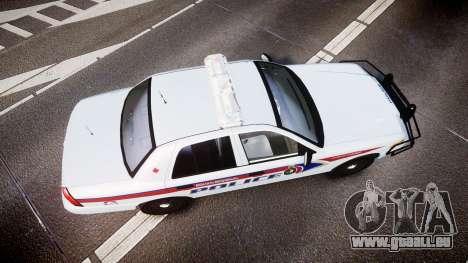 Ford Crown Victoria Bohan Police [ELS] pour GTA 4 est un droit