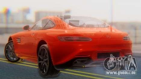 Mercedes-Benz SLS AMG GT pour GTA San Andreas laissé vue
