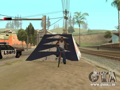 Sprungbrett für GTA San Andreas