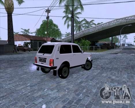 VAZ 2121 Niva 4x4 pour GTA San Andreas laissé vue