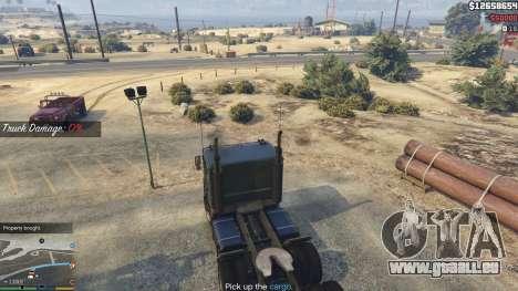 GTA 5 Trucking Missions 1.5 neunter Screenshot
