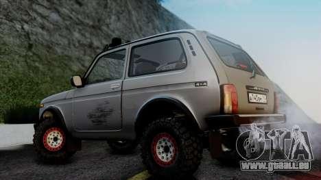 VAZ 2121 Niva 4x4 für GTA San Andreas zurück linke Ansicht
