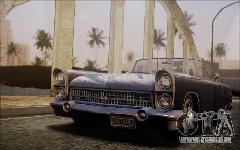 GTA 5 Vapid Peyote pour GTA San Andreas