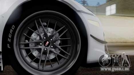 Lexus LFA für GTA San Andreas zurück linke Ansicht
