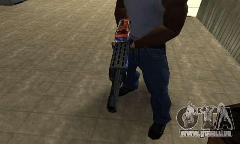 Fish Power Combat Shotgun für GTA San Andreas zweiten Screenshot