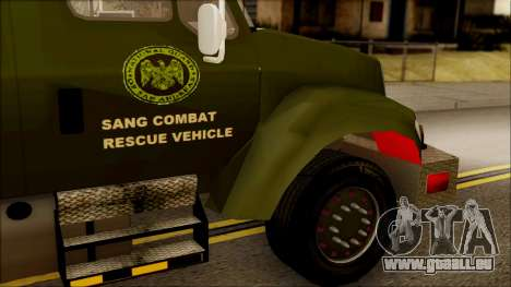 SANG Combat Rescue International pour GTA San Andreas vue de droite