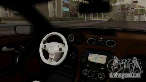 Mercedes-Benz SL65 E-Tuning pour GTA San Andreas vue de droite