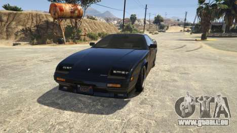 GTA 5 Knight Rider: K.I.T.T [.NET] 2.6.1 vierten Screenshot