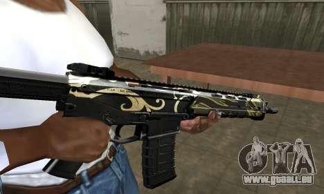 Kaymay M4 pour GTA San Andreas deuxième écran