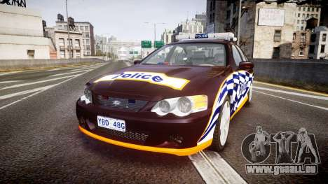 Ford Falcon BA XR8 Highway Patrol [ELS] für GTA 4
