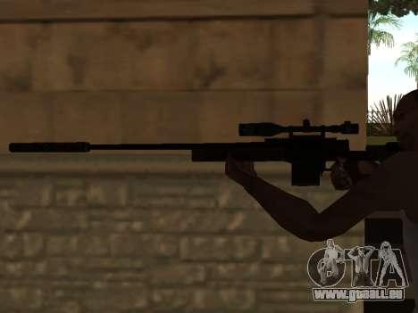 Sniper Rifle pour GTA San Andreas deuxième écran