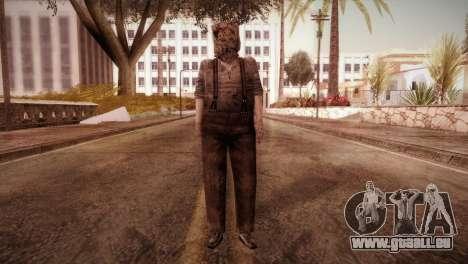 RE4 Dr. Salvador from Mercenaries pour GTA San Andreas deuxième écran