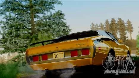 Dodge Charger Super Bee 426 Hemi (WS23) 1971 IVF pour GTA San Andreas laissé vue
