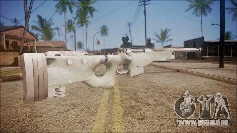 L96 from Battlefield Hardline für GTA San Andreas zweiten Screenshot
