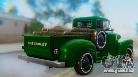 Chevrolet 3100 1951 Work für GTA San Andreas linke Ansicht