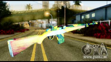 Brasileiro Rifle für GTA San Andreas zweiten Screenshot
