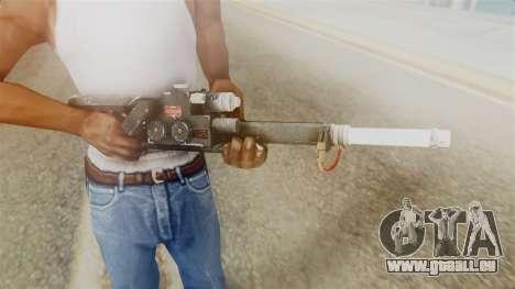 Ghostbuster Proton Gun pour GTA San Andreas troisième écran