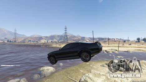 GTA 5 Knight Rider: K.I.T.T [.NET] 2.6.1 achten Screenshot
