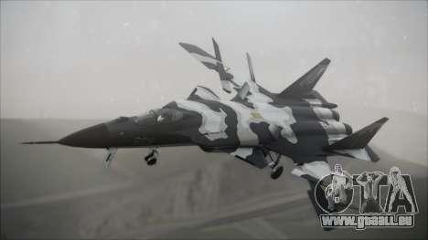 SU-47 Berkut Grabacr Ace Combat 5 für GTA San Andreas
