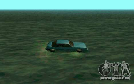 Cars Water für GTA San Andreas zweiten Screenshot
