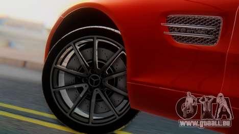 Mercedes-Benz SLS AMG GT pour GTA San Andreas sur la vue arrière gauche