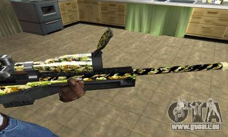 Cub Sniper Rifle für GTA San Andreas zweiten Screenshot