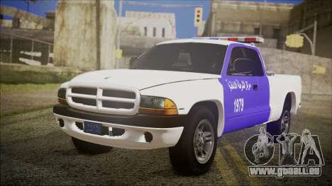 Dodge Dakota Iraqi Police für GTA San Andreas
