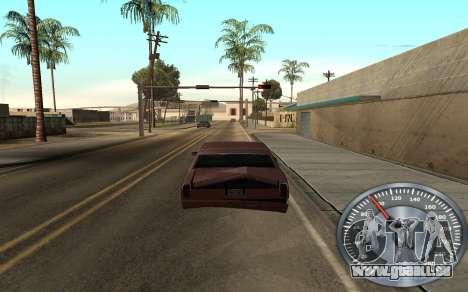 De fer de l'indicateur de vitesse pour GTA San Andreas