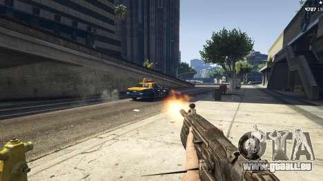 GTA 5 Gears of War Lancer 1.0.0 zweite Screenshot