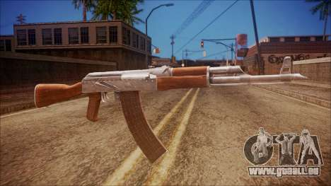 AK-47 v6 from Battlefield Hardline für GTA San Andreas