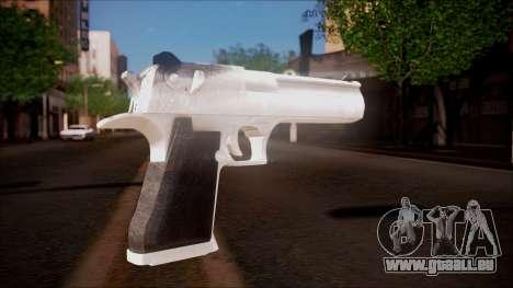 Desert Eagle from Battlefield Hardline pour GTA San Andreas deuxième écran